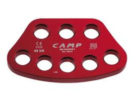 CAMP SAFETY MULTI ANCHOR RIGGING PLATE,8 HOLE