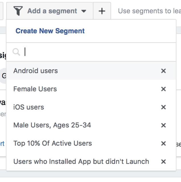 create new segment
