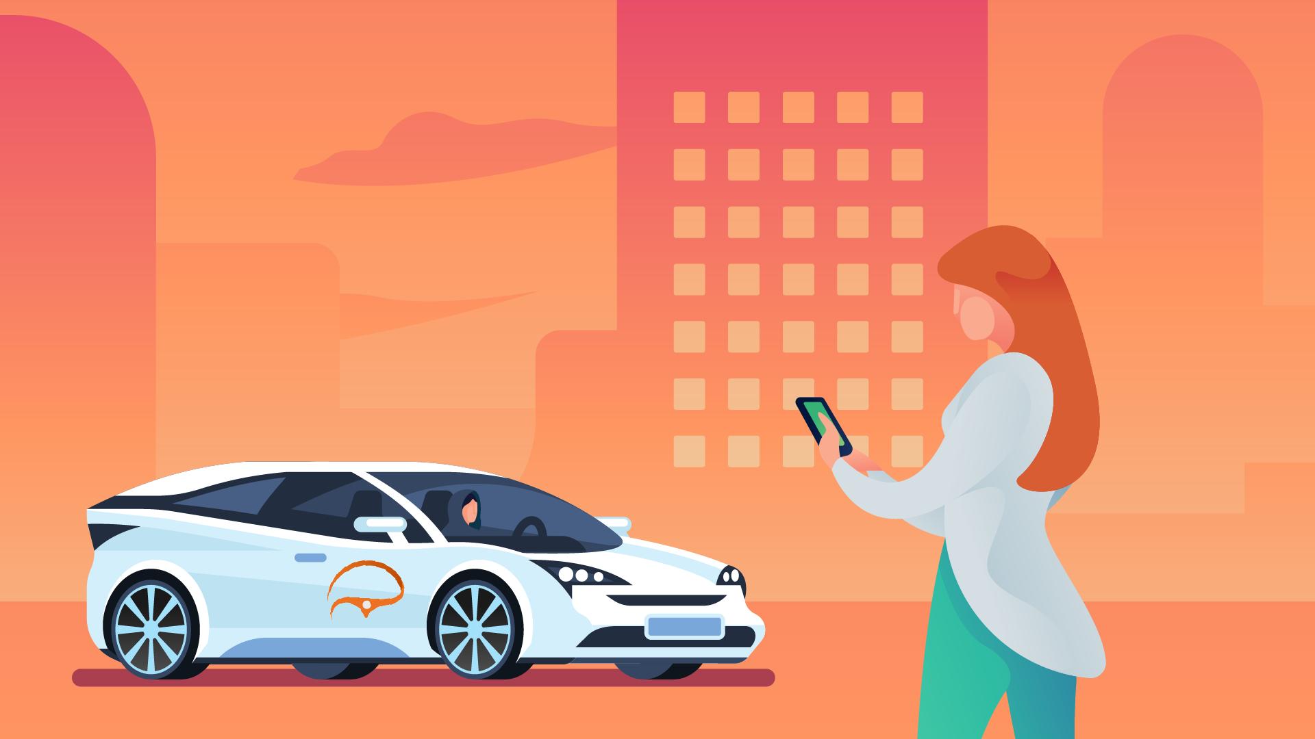 Almeny - taxi for women