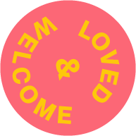 Love and Welcome Sticker