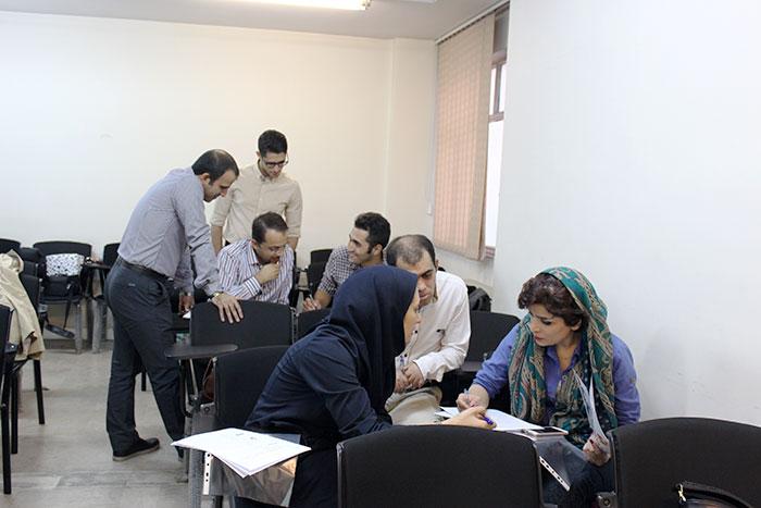 تمرین گروهی جلسه دوم دوره وبمستر پولساز