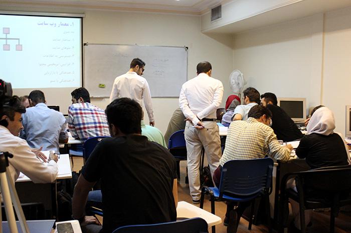 تمرین گروهی جلسه اول دوره وبمستر پولساز
