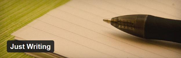 پلاگین just writing