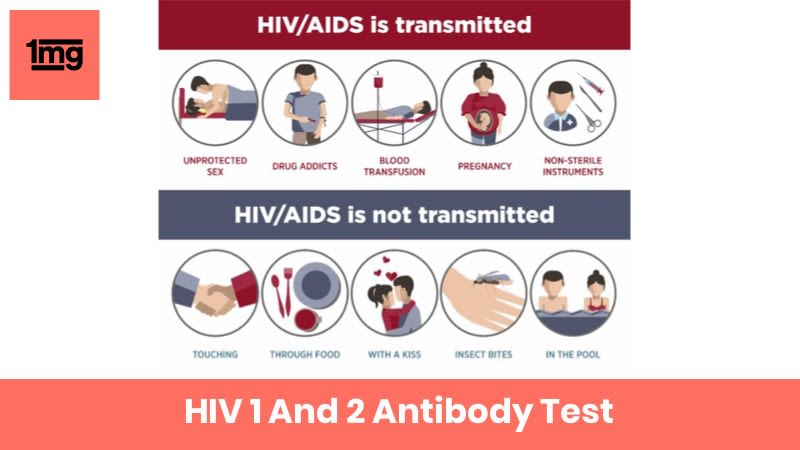 HIV 1 And 2 Antibody : Purpose & Normal Range of Results | 1mg
