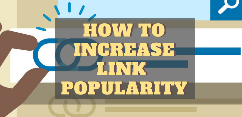Link popularity techniques