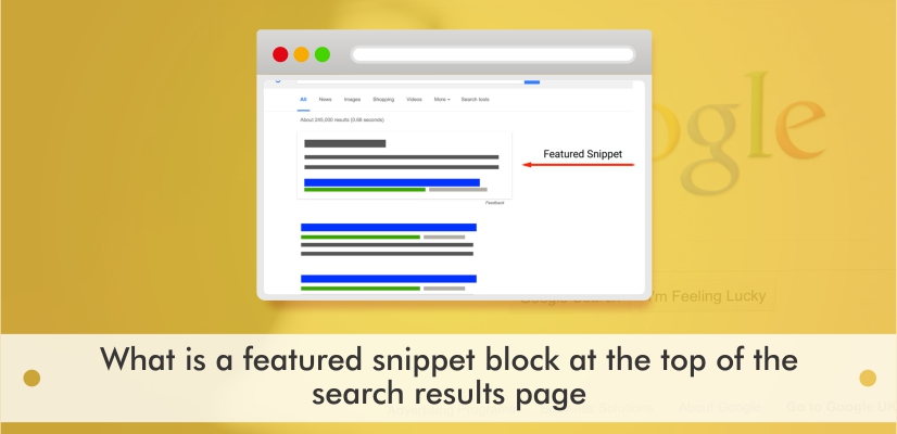 Featured Snippet Block