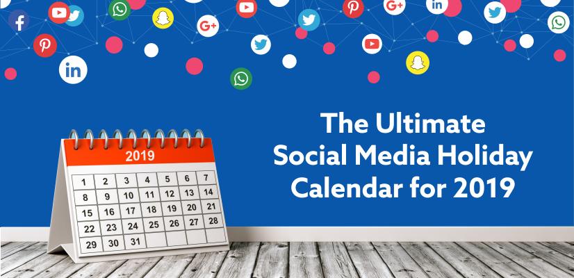 social media holiday calendar