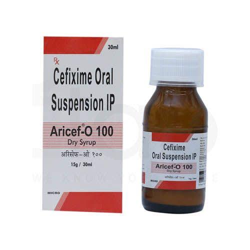 Aricef-O 100 Dry Syrup