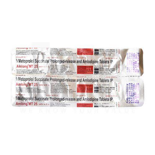 Amlong MT 25mg Tablets