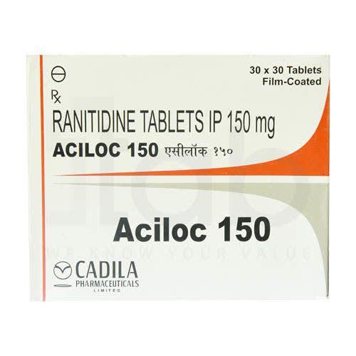 Aciloc 150 Tablets