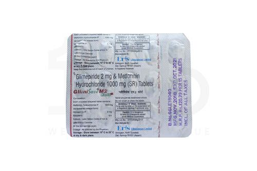 Glimisave M Forte 2 Mg Tablet