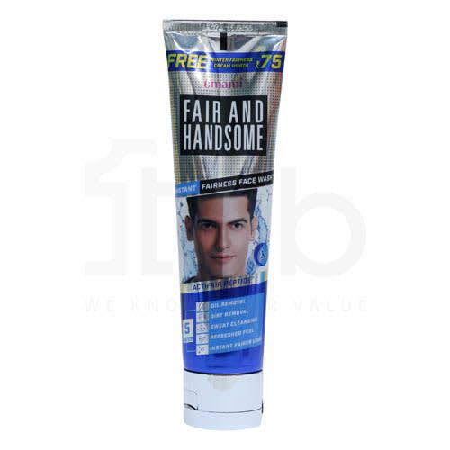 Fair And Handsome Instant Fairness Face Wash (Free Cream)