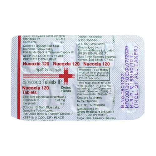 Nucoxia 120 Mg Tablet