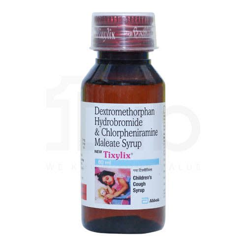 Tixylix New -Children'S Cough Syrup