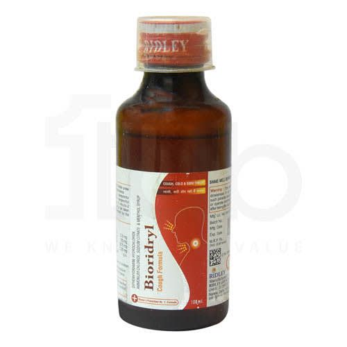 Bioridryl Cough Formula