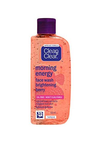 Clean & Clear Morning Energy Face Wash Brightening Berry 50ml