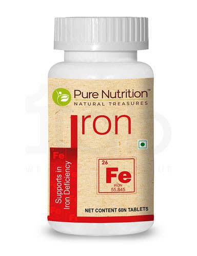 Pure Nutrition Iron Tablet