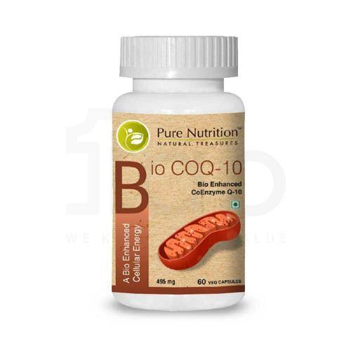 Pure Nutrition Bio COQ-10 - A Bio Enhanced Cellular Energy Capsules