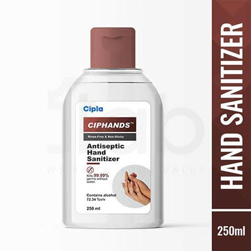 Ciphands Antiseptic Hand Sanitizer 250ml