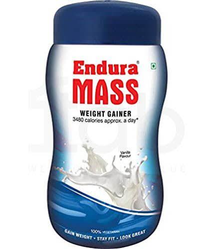 Endura Mass Weight Gainer Vanilla 500gm