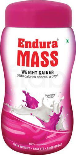 Endura Mass Weight Gainer Strawberry 500gm