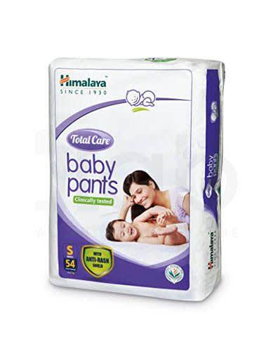 Himalaya Total Care Baby Pants Small 54's