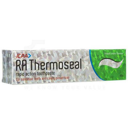 RA Thermoseal Rapid Action Toothpaste Fresh Mint 50gm