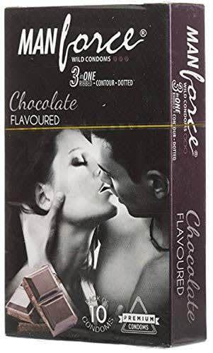 Manforce Wild Condom Chocolate 10's