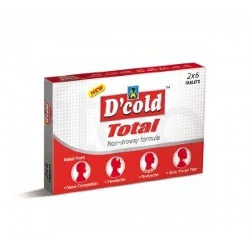 D Cold Total Tablet 6'S