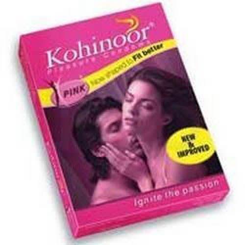 Kohinoor Pink Condom 10'S