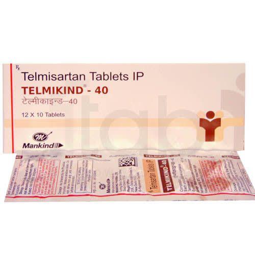 Telmikind 40 Tablet
