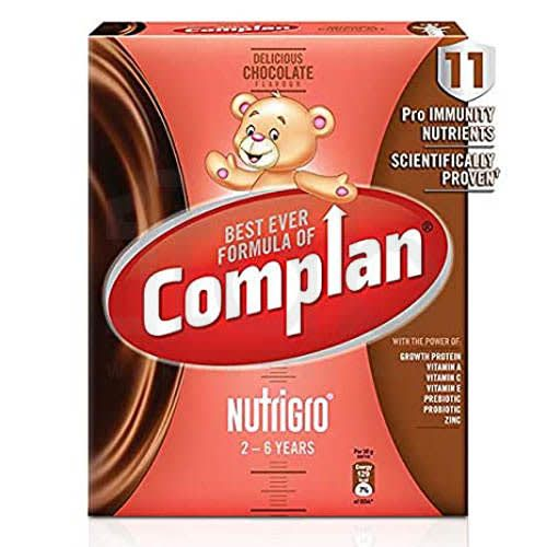 Complan Nutrigro for 2 to 6 Years Delicious Chocolate