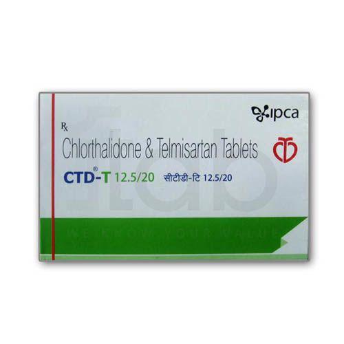 CTD-T 12.5/20 Tablet