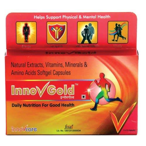 Innovgold Soft Gelatin Capsule