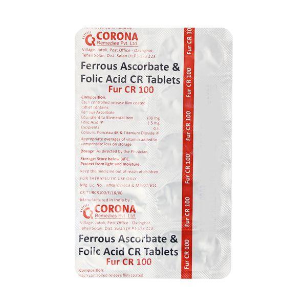 Fur CR 100mg Tablet