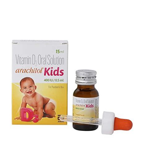 Arachitol Kids 400IU paediatric Drop