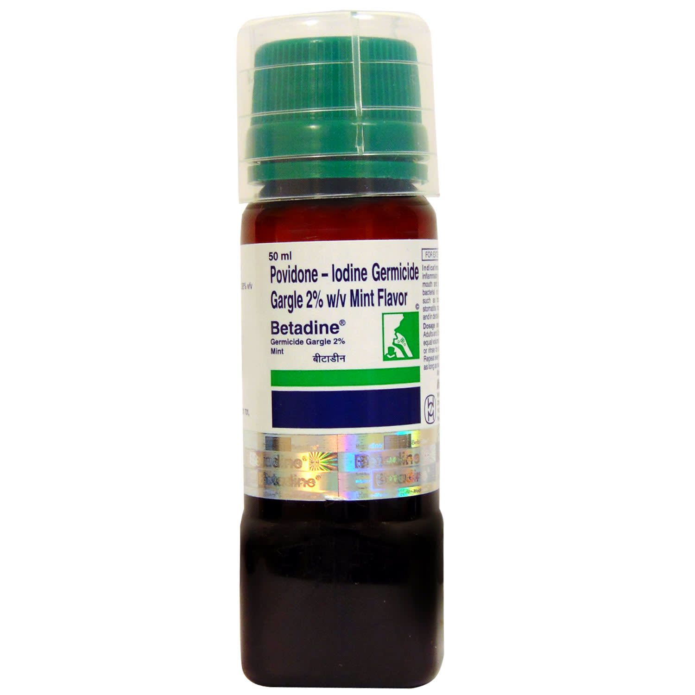 Betadine 2% Gargle Mint-50 Ml