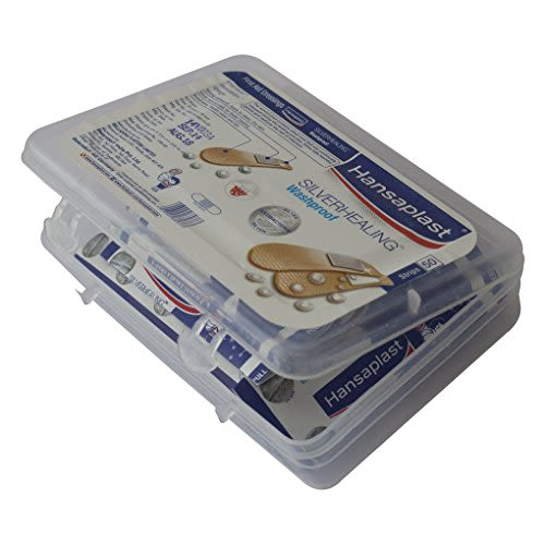 Hansaplast Silverhealing Washproof 50's
