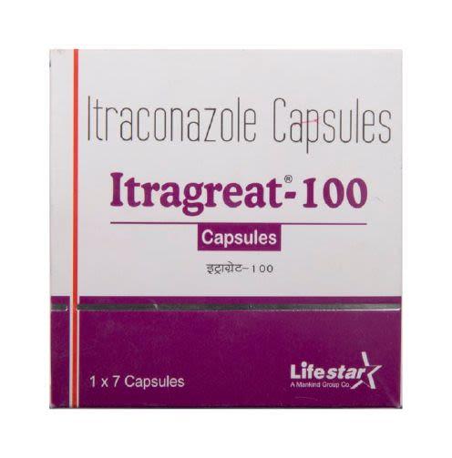 Itragreat 200 Capsule 7's