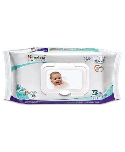 Himalaya Gentle Baby Wipes-72's