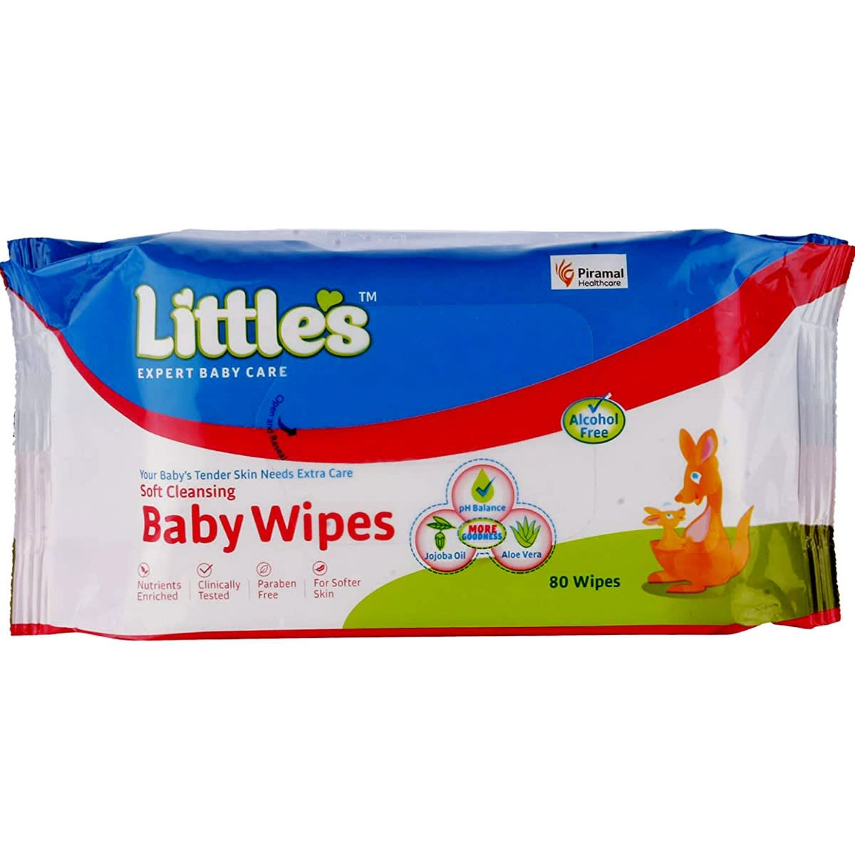 Little's Soft Cleansing Baby Wipes- 80's