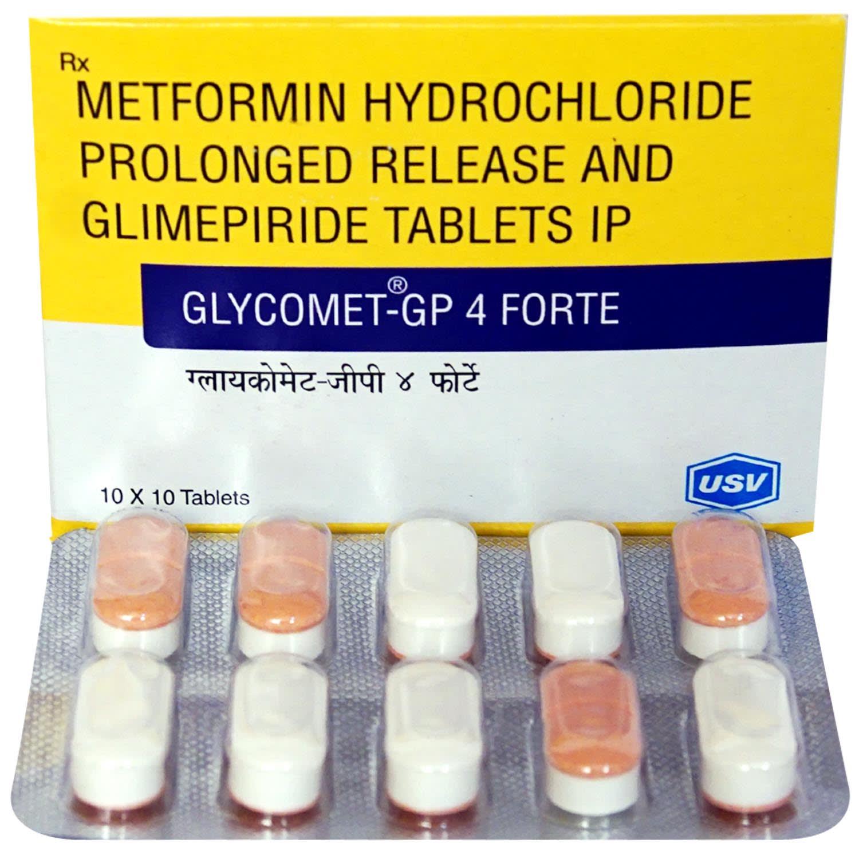 Glycomet-Gp 4 Forte Tablet PR