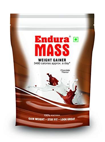 Endura Mass Weight Gainer Chocolate Refill 400gm