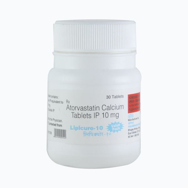 Lipicure 10 Tablet 30's