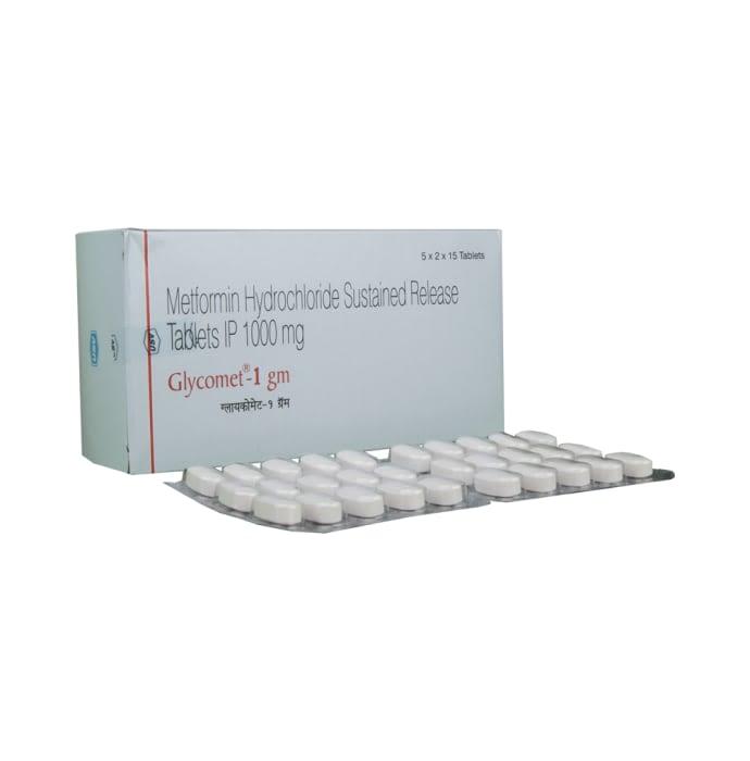 Glycomet 1Gm Tablet Sr
