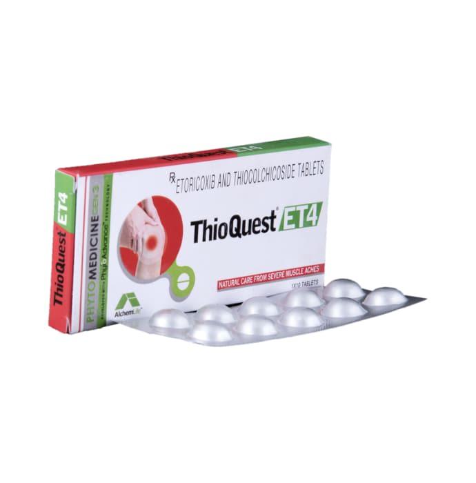Thioquest Et 4 Tablet