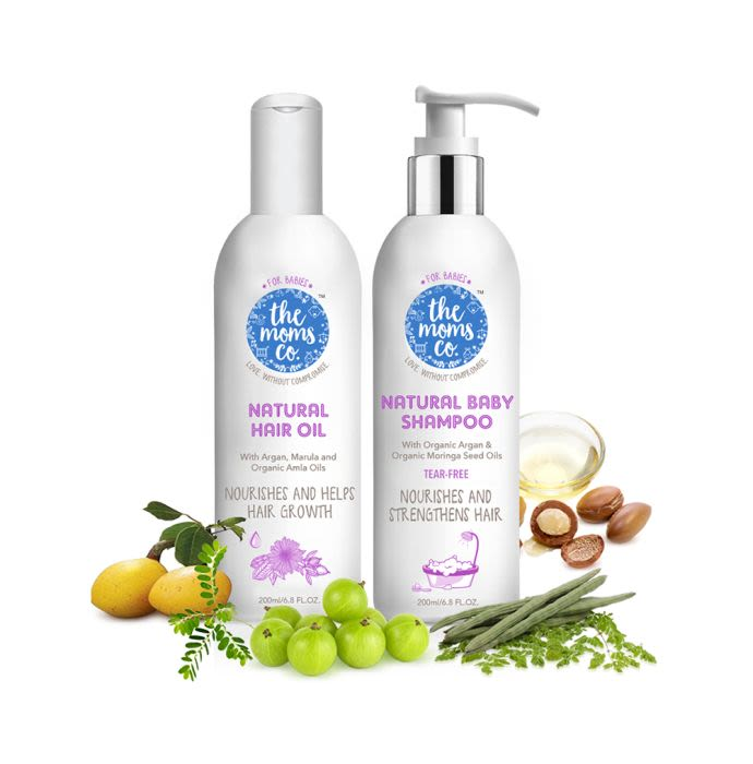The Moms Co. All Natural Hair Care Essentials for Baby