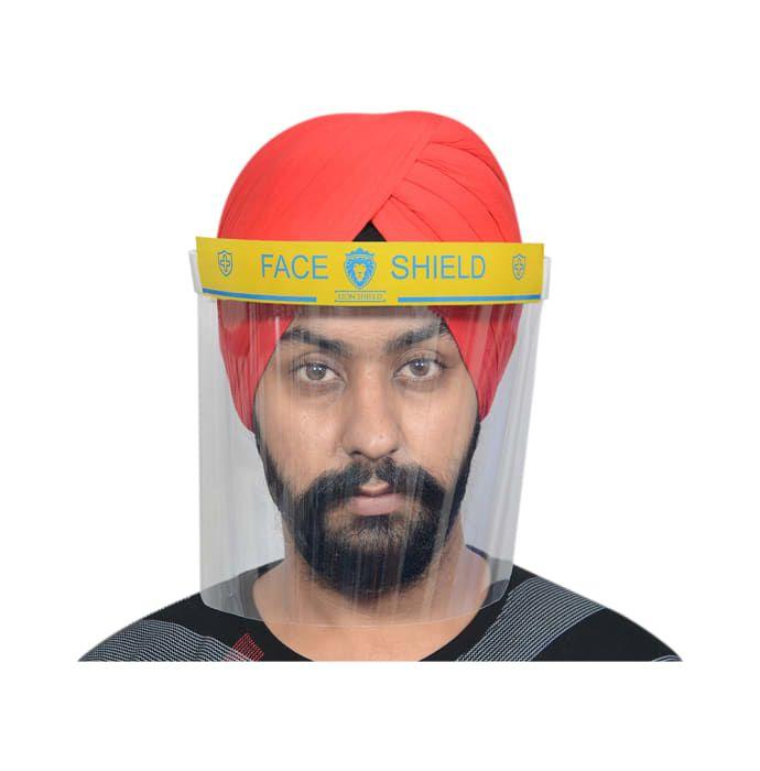 Lion Shield Yellow 500 micron Face Shield