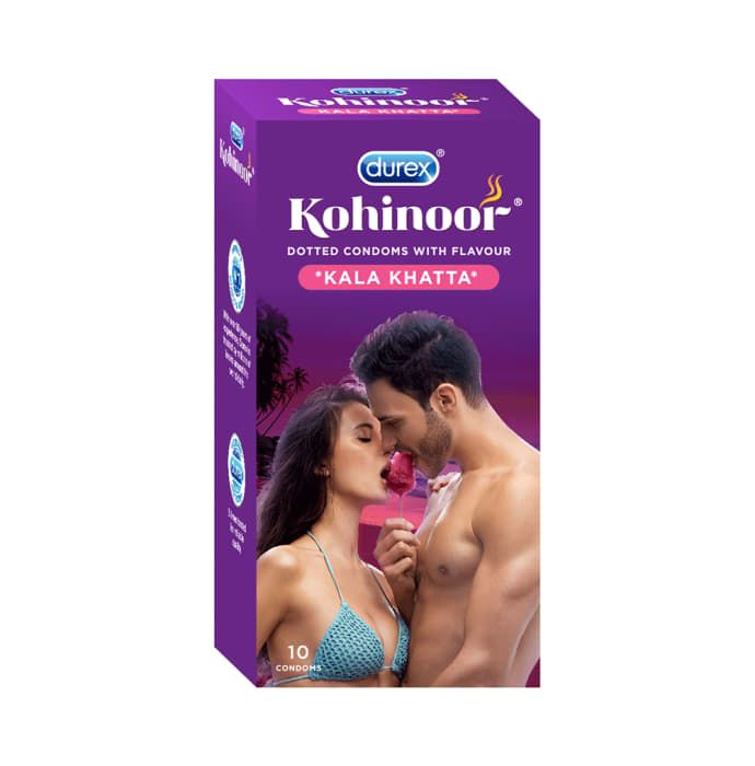 Durex Kohinoor Kala Khatta Condom