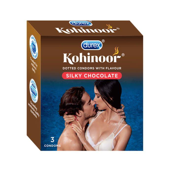 Durex Kohinoor Condom Silky Chocolate